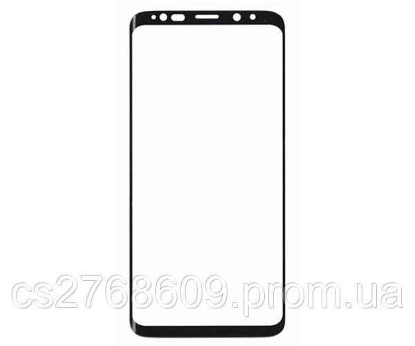 Защитное стекло / Захисне скло Samsung S9 Plus, G965 чорний 5D без упаковки