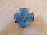 Крестовина чугунная резьбовая ВВВВ 1 дюйм (25мм)