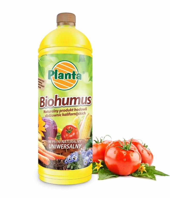 ТМ PLANTA Органическое  Удобрение Биогумус 0,5л Польша