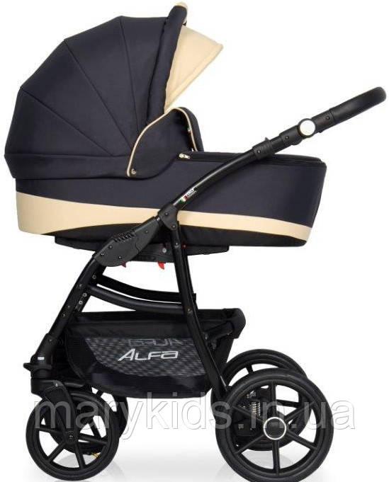 Детская универсальная коляска 2 в 1 Riko Alfa Ecco 05