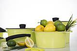 Zitrone Кастрюля 4.2 л 24x12 см Ringel RG-2108-24/1, фото 9