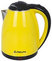 Электрический чайник Delfa DK 3500 Х yellow