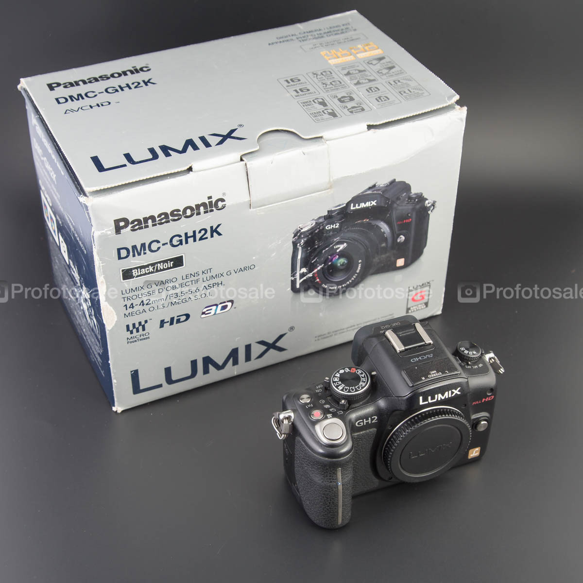 Panasonic DMC-GH2 body