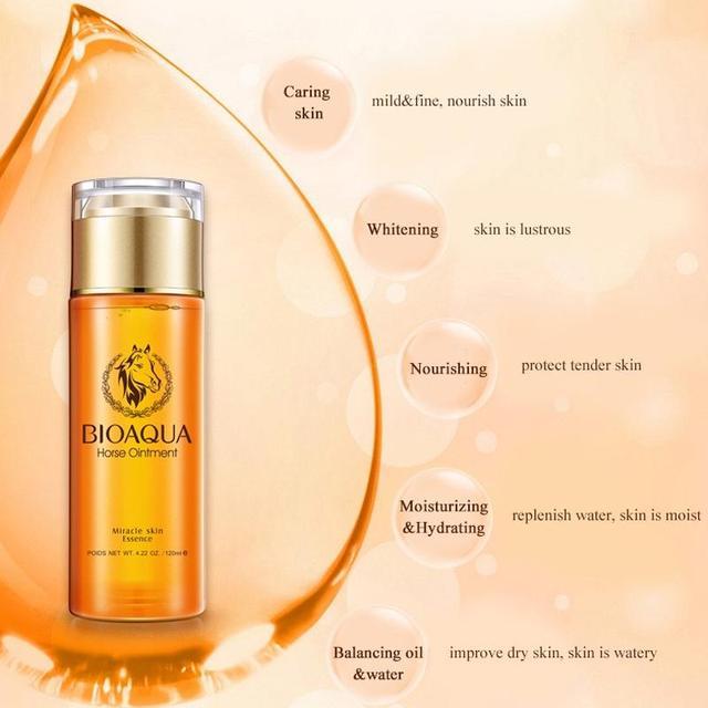 BIOAQUA Horse Ointment Cream Miracle Skin Essence