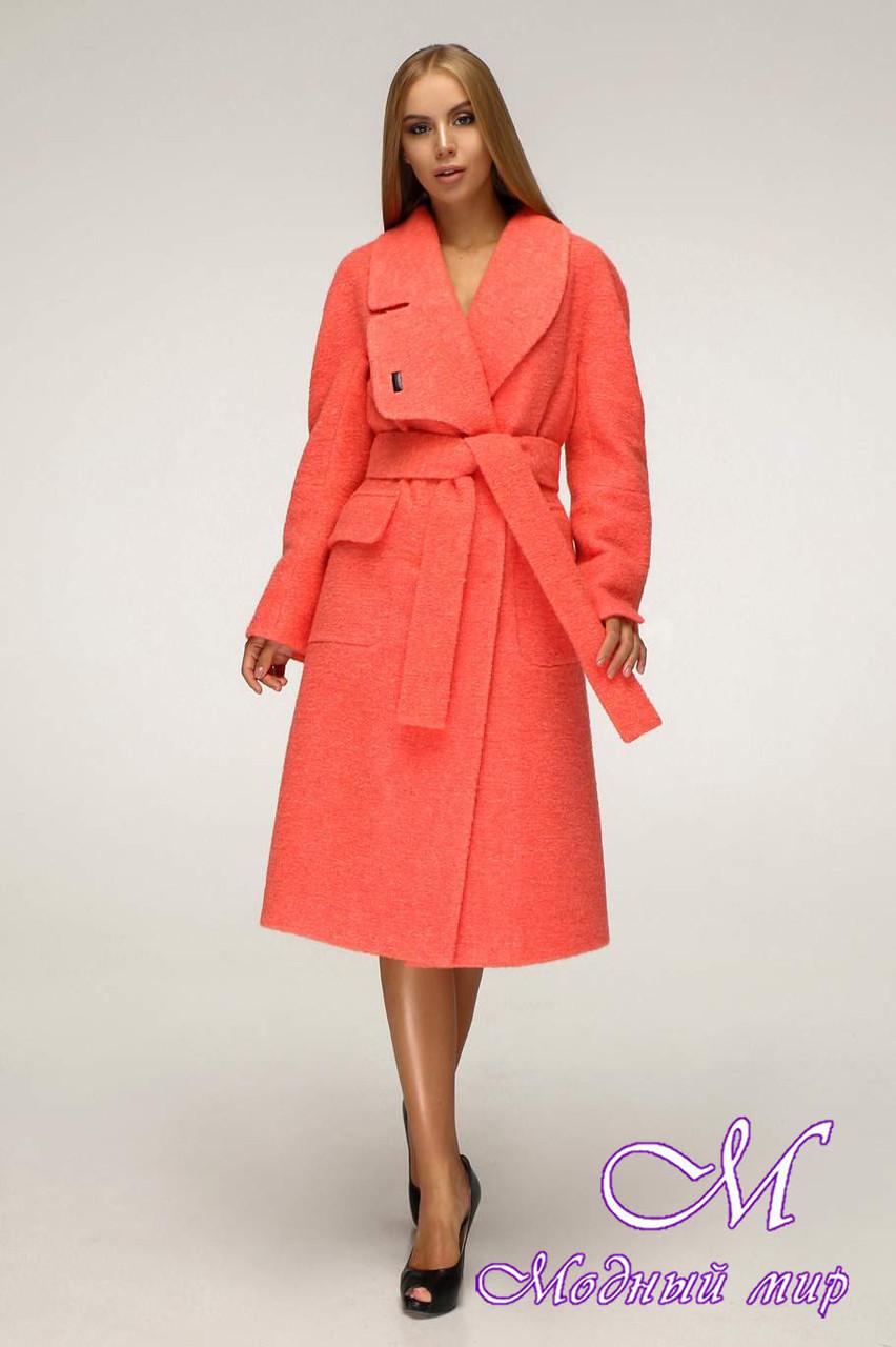 Женское качественное осеннее пальто (р. 44-54) арт. 1216 Тон 1042