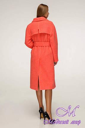 Женское качественное осеннее пальто (р. 44-54) арт. 1216 Тон 1042, фото 2