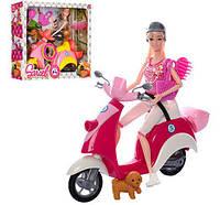 Ігровий набір «Лялька Sariel на скутері»