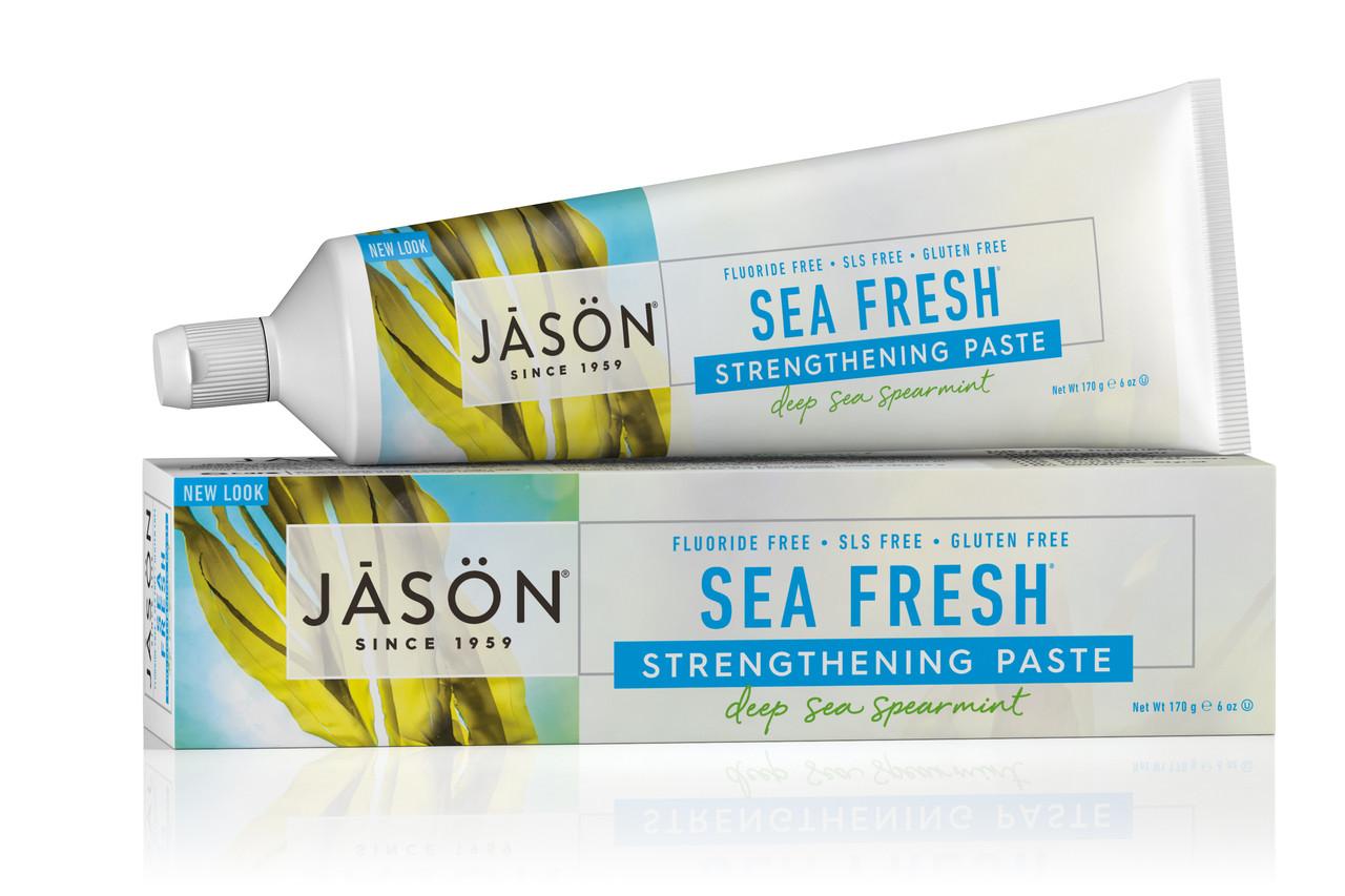 Зубная паста от зубного камня Морская свежесть, Jason