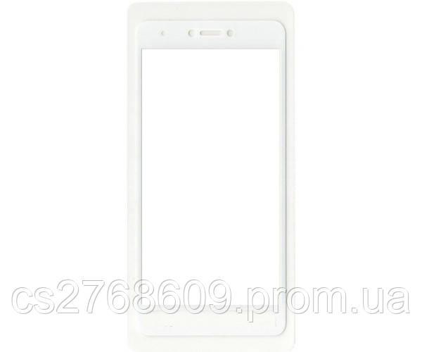 Защитное стекло / Захисне скло Xiaomi Redmi Note 4x білий 6D Full
