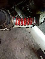Термостійкий патрубок з силікону від д.50 мм до 1000 мм, температура -150С до +260 С, польського виробництва