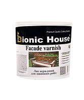 Лак Bionic-House для наружных работ (Водорастворимый лак) 0,8л