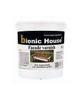 Лак Bionic-House для наружных работ (Водорастворимый лак) 2,5л