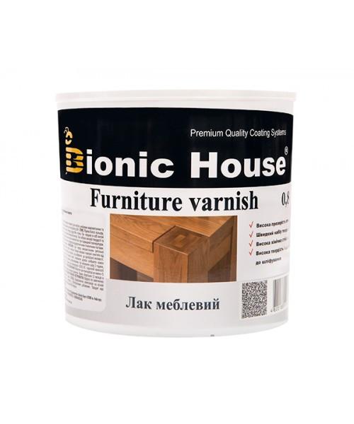 Лак Мебельный Bionic-House (Водорастворимый лак для внутренних работ) 0,8л