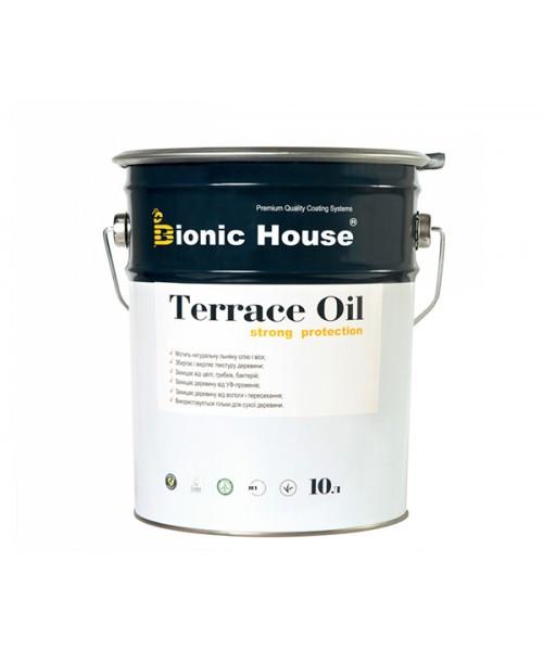"""Масло террасное """"TERRACE OIL"""" (10л). С пчелинным воском. Для дерева, террасной доски. Bionic House (Бионик)"""