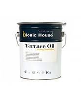 """Масло террасное """"TERRACE OIL"""" (10л). С пчелинным воском. Для дерева, террасной доски. Bionic House (Бионик), фото 1"""