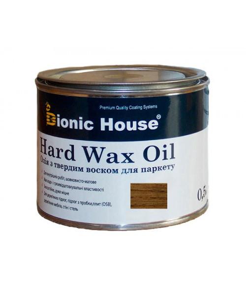 """Масло с твердым воском Bionic-House для паркета """"Hard wax oil"""" 0,5л"""