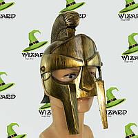 Шлем гладиаторский Максимус (золото)