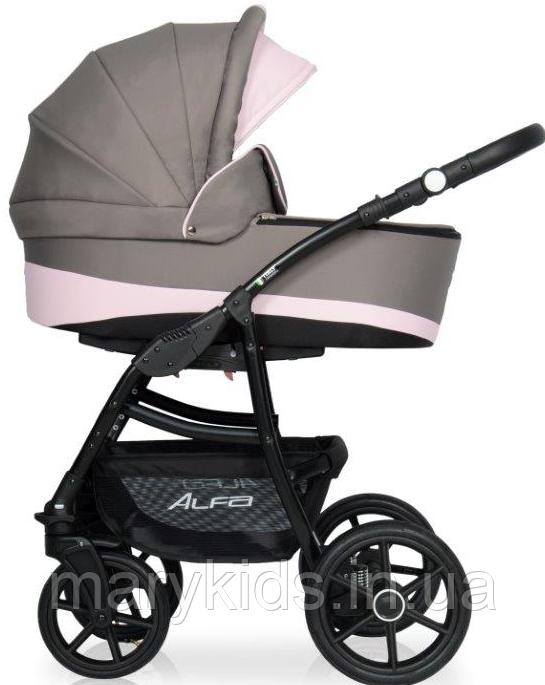 Детская универсальная коляска 2 в 1 Riko Alfa Ecco 09