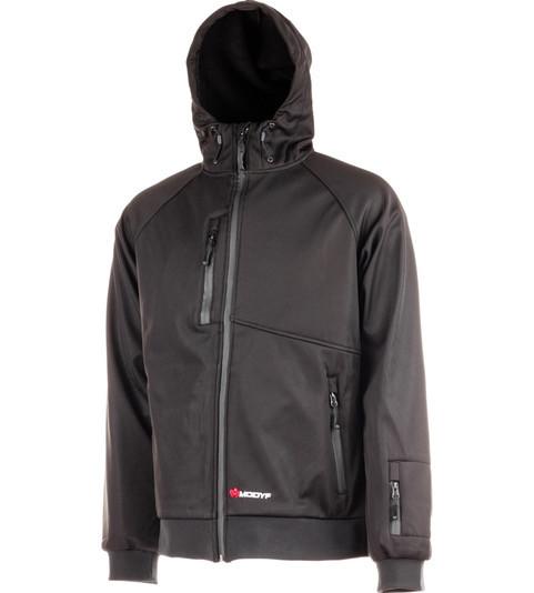 Куртка SOFTSHELL HYBRID LINE черная