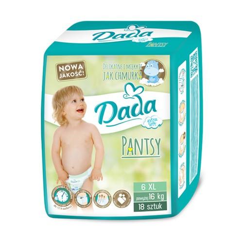 Трусики - подгузники Dada 6 (16+кг), 18шт