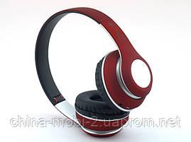 ST33 bluetooth Hi-Fi наушники с FM MP3, красные, фото 2