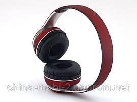 ST33 bluetooth Hi-Fi наушники с FM MP3, красные, фото 3