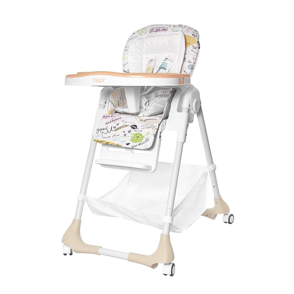 Детский стульчик для кормления TILLY Bistro /Beige