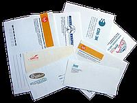 Печать на конвертах ЕВРО - 220х110 мм