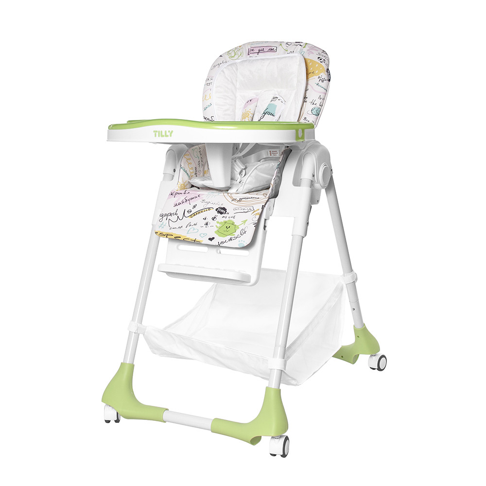 Детский стульчик для кормления TILLY Bistro /  Green