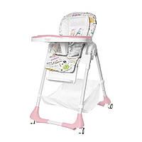 Детский стульчик для кормления TILLY Bistro / Rose