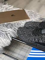 Мужские кроссовки черные Adidas EQT Cushion Black