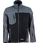 Куртка SOFTSHELL ПРЕМИУМ чёрная с серым, фото 4