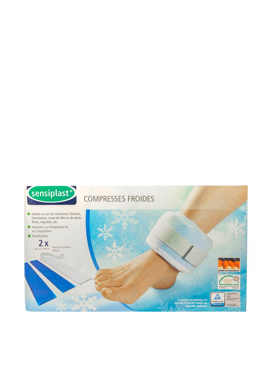 Холодный гелевый компресс на голеностоп