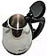 Чайник электрический дисковый Domotec MS-5001, 1.8л Электрочайник нержавеющая сталь, фото 4