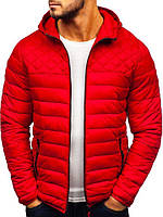 Демисезонная мужская куртка с капюшоном!