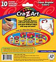 Фломастеры, маркеры смываемые 10 цветов Cra-Z-Art Washable Markers 10 Count, фото 3