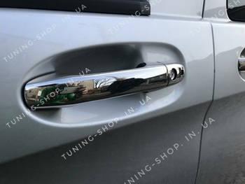 Накладки на ручки Mercedes Vito W447 2014-2019,  без чипа