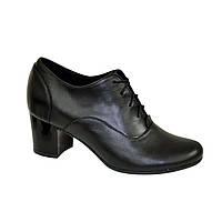 Туфли женские Vasha Para РТ-2002 41 черная кожа
