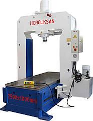 Гидравлический выпрямительный пресс HSPS 100 Hidroliksan