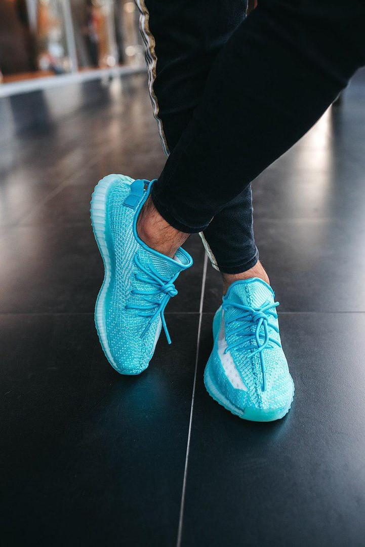 Кроссовки  Adidas Yeezy Boost  350 v2 Bluewater