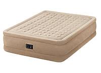 Кровать Intex Queen Ultra Plush  со встроенным насосом 203х152х46 см (64458)