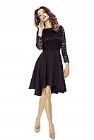 Платье шлейф с гипюром 42 44 46 48 50 52 54  Р, фото 1