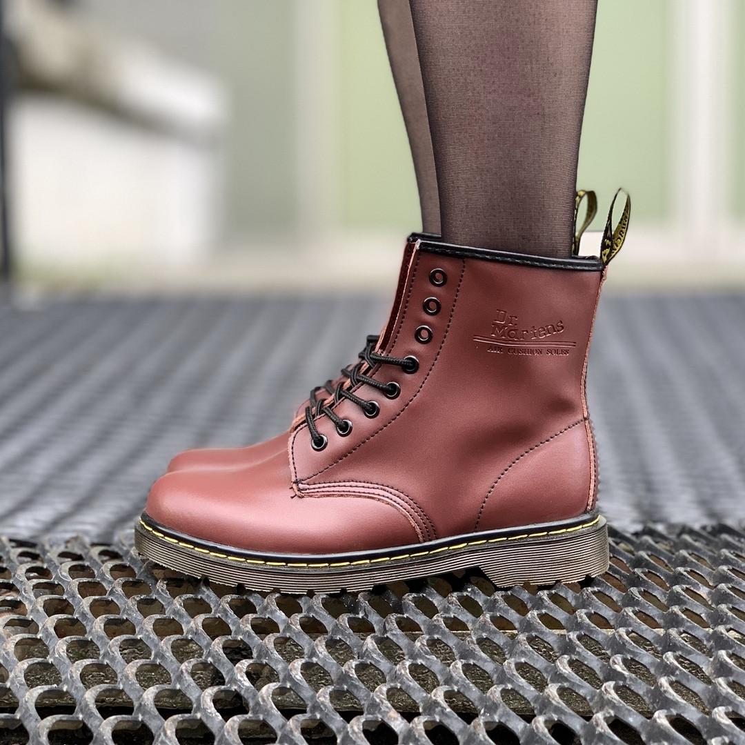 """Зимние ботинки на меху Dr. Martens """"Бодовые"""""""