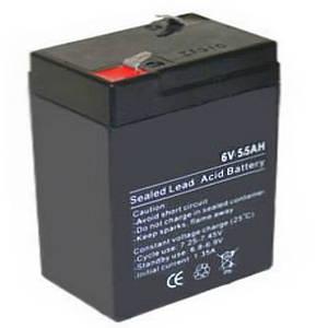 Аккумулятор 6V 5 5A
