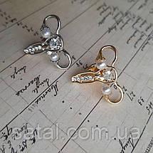 """Значок """"Гинеколог"""". Серебро (камни), фото 3"""