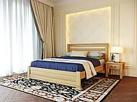 Ліжко Лорд 160/200 см Меблі Лев колір лак натуральний
