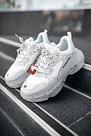 Женские кроссовки Balenciaga Triple S White Clear Sole