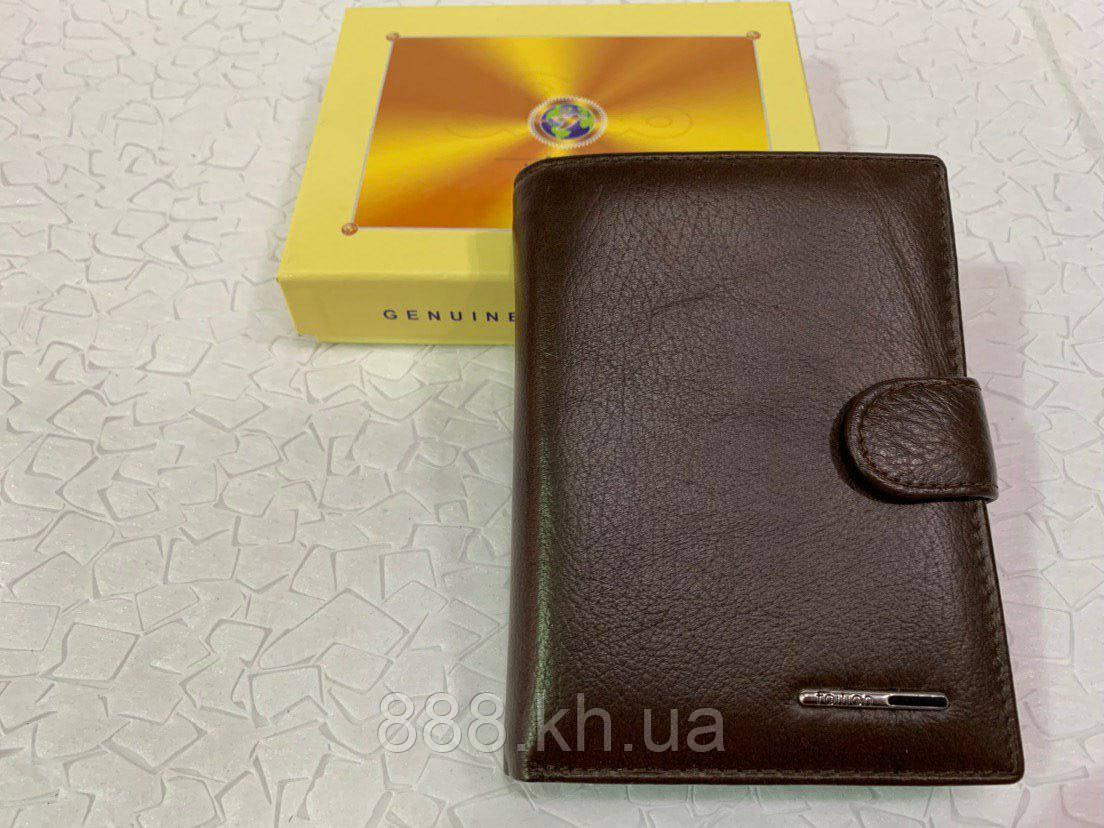 Мужской кожаный кошелек правник TAILIAN, портмоне, чоловічий гаманець, опт