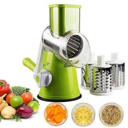 Овочерізка механічна для овочів і фруктів Kitchen Master / Терка у формі м'ясорубки, фото 2