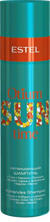 Охлаждающий шампунь для волос OTIUM SUN TIME 250 мл.